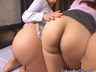 glamorous japanese milfs have large part9