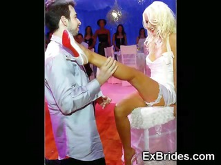 those virgin brides cant await any longer!