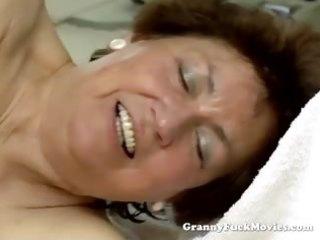 youthful lad fucking plump hairy granny