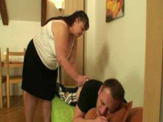 mom takes care of her daughters hubby
