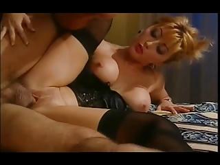 hawt oriental wife in satin basque &;