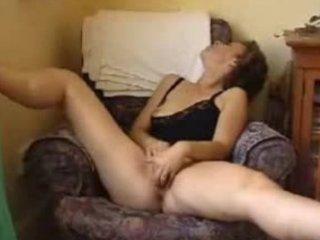 older wife masturbates and sucks spouse dick