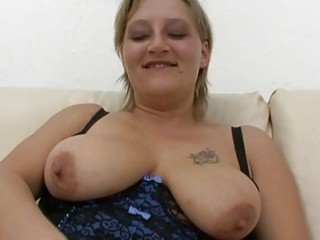 chubby dilettante milf sucks and copulates with
