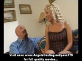 sexy golden-haired mother i as bride does oral