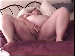 big beautiful woman wife playing with her pussy