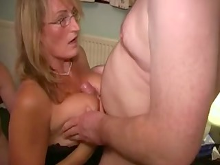 British Wench Mother Likes Cum Facual Cumshots