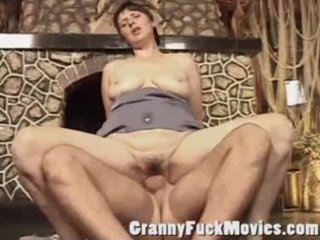 indecent older slut acquires a hard cock in her