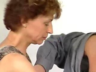 Stiff cock for mature german lady