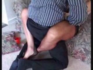 obscene mama in stockings acquires her cum-hole