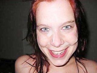 amateur wives facial & ejaculation pic