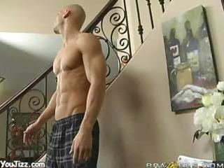 johnny goes downstairs for a sexy milf
