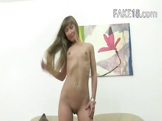 ukraine honey licking and gagging on sofa