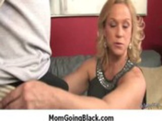 milf acquire darksome cock in her taut mature