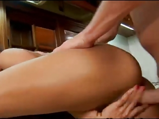 lalin girl aged acquires fucked in her kitchen