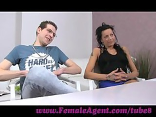 femaleagent. chap becomes a rd wheel in casting