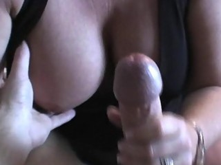 Busty blonde milf is a cock hungry whore