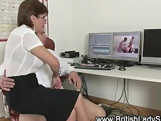 mature woman acquires engulfing for jock
