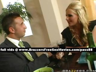 breathtaking blonde wife at the table with her