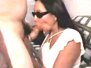 dilettante wife facial with sunglasses