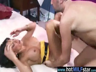 hot milf acquire concupiscent and need large