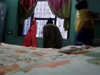 indian aunty megha rani caught whilst changing