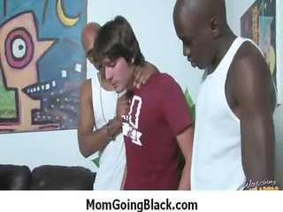 my mom go black : amazing interracial d like to
