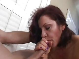 milf smokin blowjob