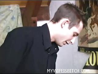 oral stimulation with hawt wife