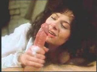 vintage retro mature woman oral with big jizz flow