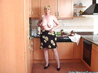 granny feels aroused and needs to acquire off