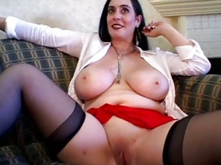 pretty busty older group-sex