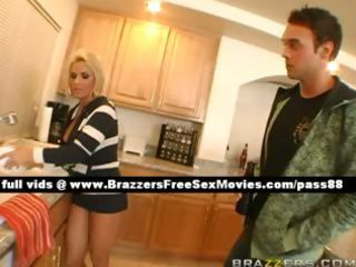 mature blond doxy at home with her allies