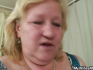 he is lured into sex by fat mother in law