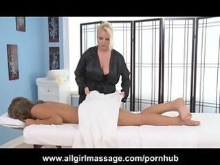 cheerleader presley hart lesbo massage