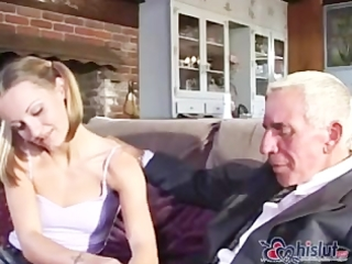 old man fuck one as well as the other mommy and