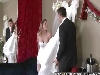 kayla paige - getting down with the gown