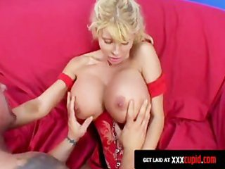 blonde d like to fuck acquires her wobblers
